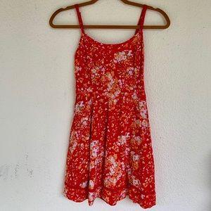 Aeropostal Floral Strap Dress